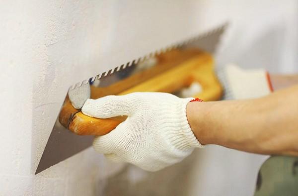 Шпаклевка для выравнивания стен