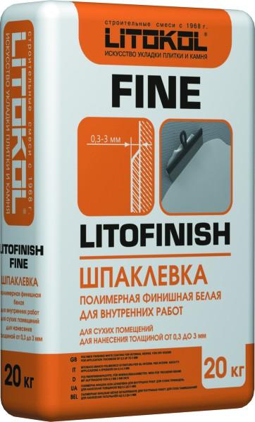 Шпаклёвка клеевая: производитель Litokol