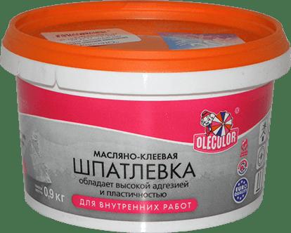 Шпатлёвка клеевая: завод-производитель Olecolor
