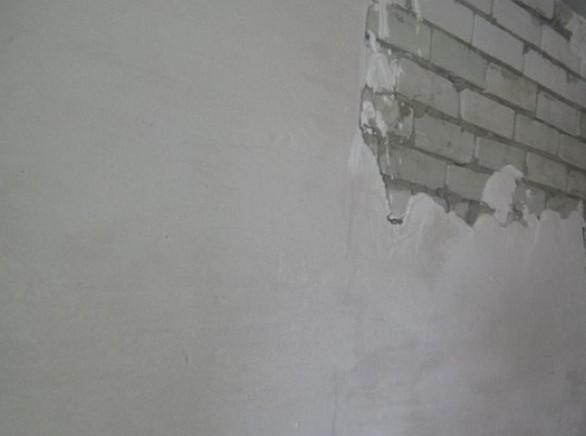 Фасадная шпаклевка должна обладать особыми свойствами