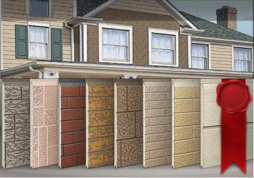Облицовка дома стеновыми панелями