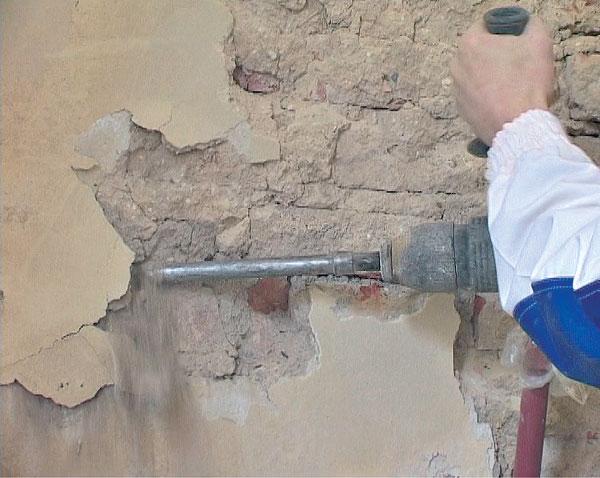 Очистка поверхности от непрочного покрытия
