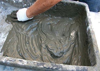 Подготовка цементного раствора