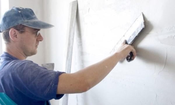 Сплошная шпаклевка стен