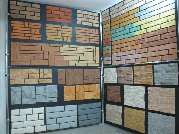 Выбираем нужный вид фасадной панели