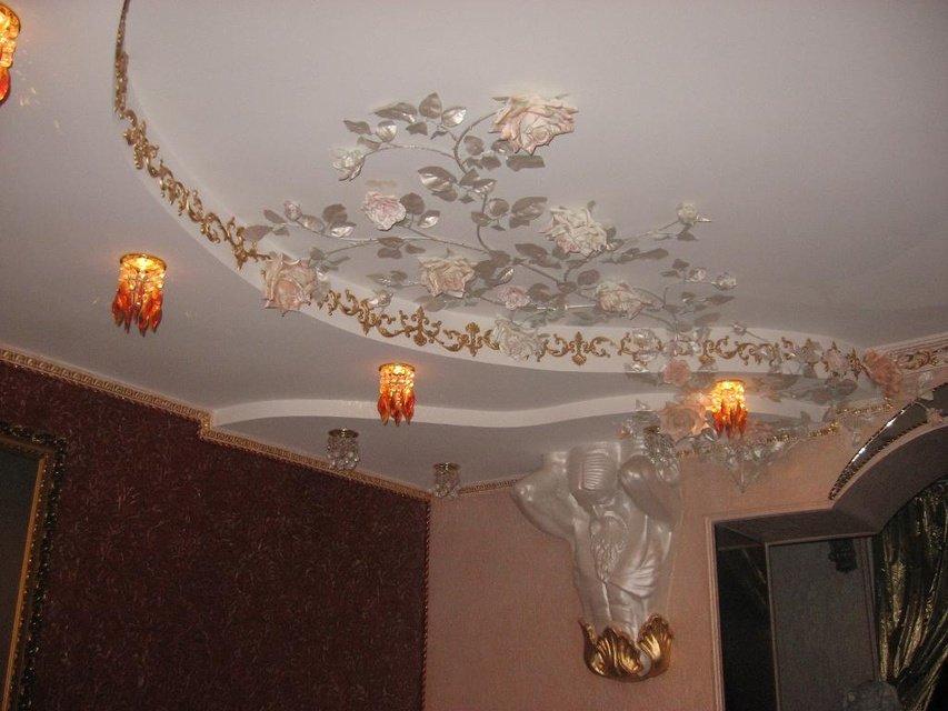 Отделка потолка декоративной штукатуркой своими руками