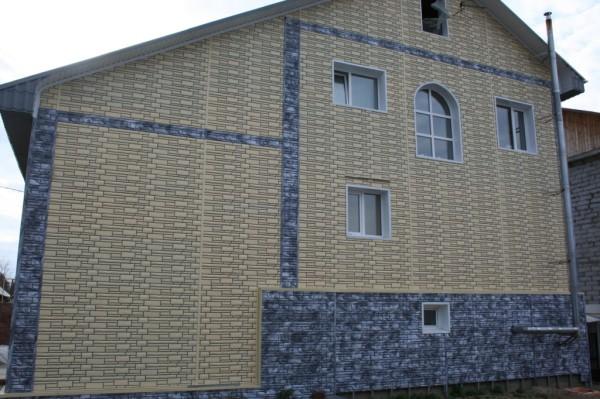 Облицовочные виниловые панели в отделке наружных стен