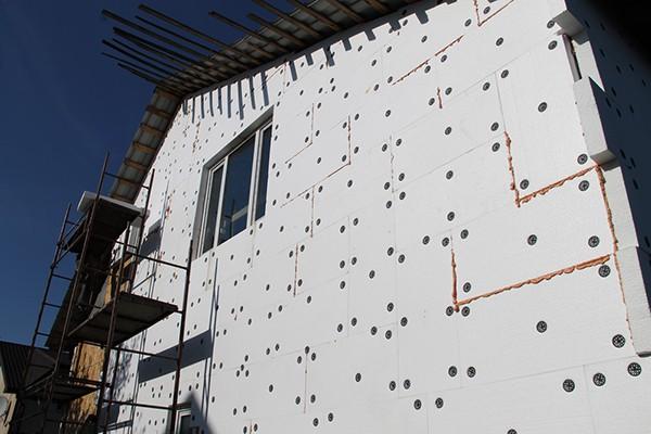 Подготовка фасада к штукатурке