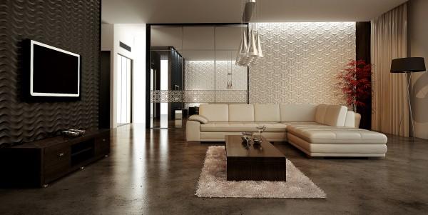 Рельефные плитки керамические глазурованные для внутренней облицовки