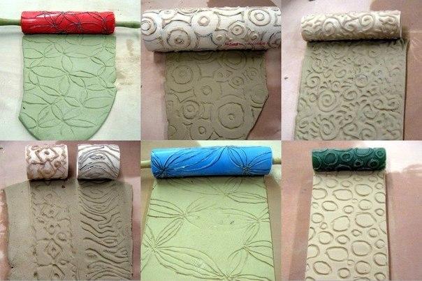 Валики для декоративной штукатурки - структурные и