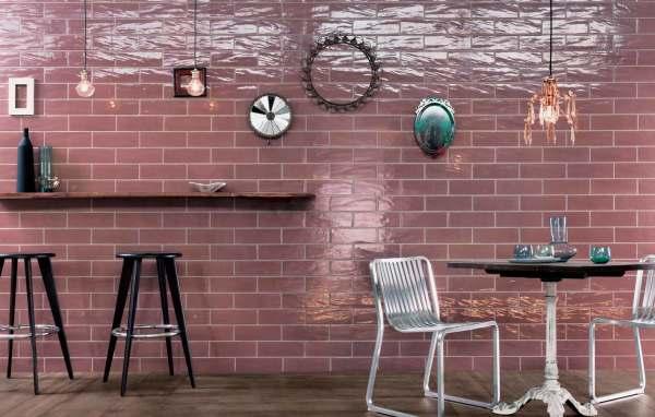 Глазурованная керамическая плитка под кирпич