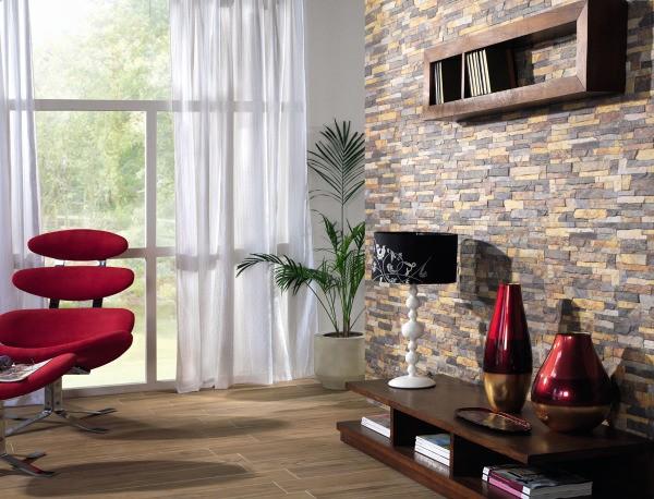 Разновидности облицовочной керамики в строительстве: плитка под камень