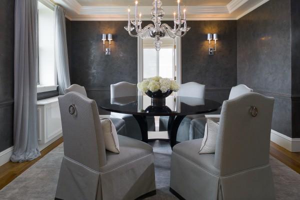 Штукатурка стен: дизайн интерьера гостиной