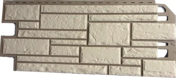 Вид металлического сайдинга: цокольная панель