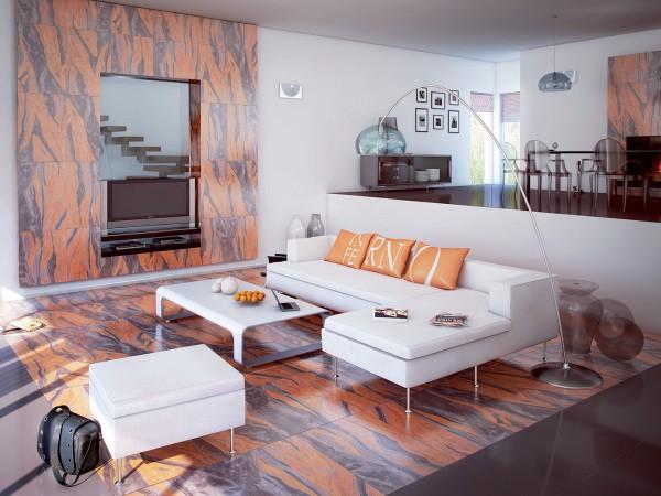 Виды облицовки керамической плиткой: вариант для интерьерного дизайна