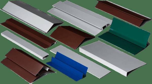 Вспомогательная фурнитура для металлических панелей