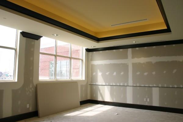 Стены с гипсокартонной обшивкой