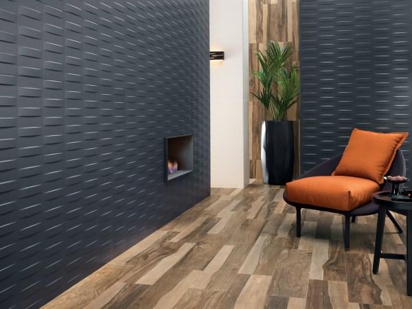 Интерьерная керамическая плитка 3D дизайн