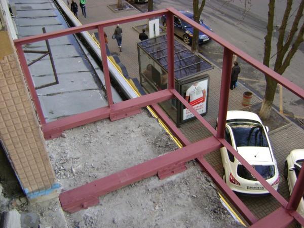 Каркас выносного балкона