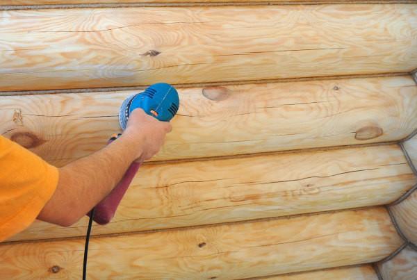 Работы в деревянном доме своими руками 375