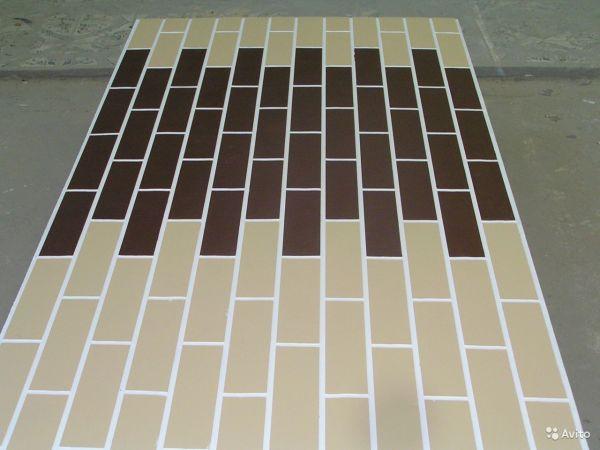 Цементно-стружечный лист с декоративной отделкой