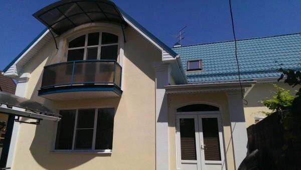 Байрамикс: мраморная штукатурка в отделке фасада частного дома