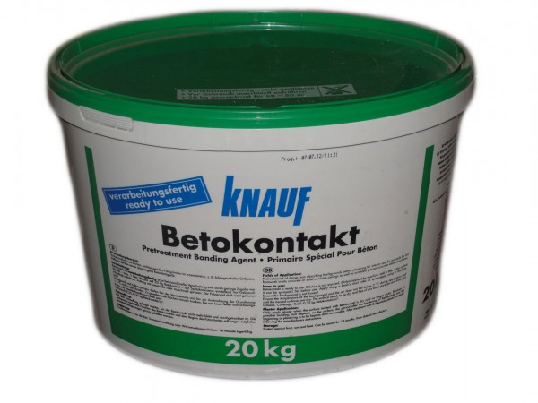 Грунтовка Бетоконтакт от Кнауф
