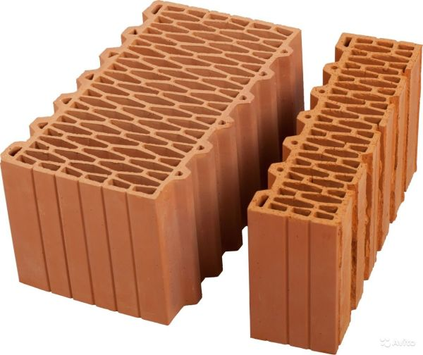 Блоки керамические облицовочные