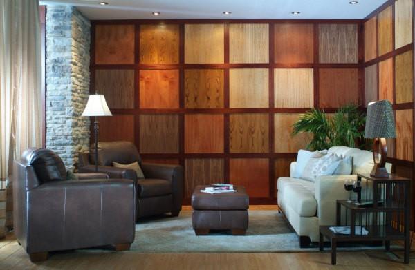 Отделка стен панелями и декоративными молдингами