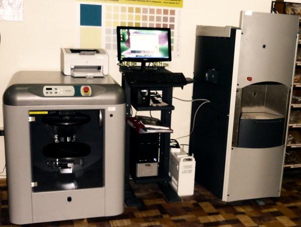 Аппарат для компьютерной колеровки красок и штукатурных смесей