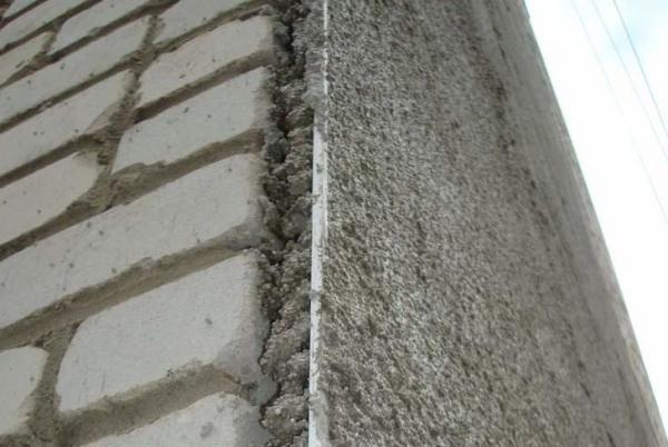 Фасадная штукатурка для кирпичной стены
