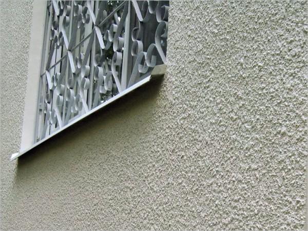 Минеральная штукатурка на фасаде дома