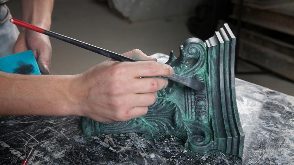 Покраска металлических деталей своими руками 1