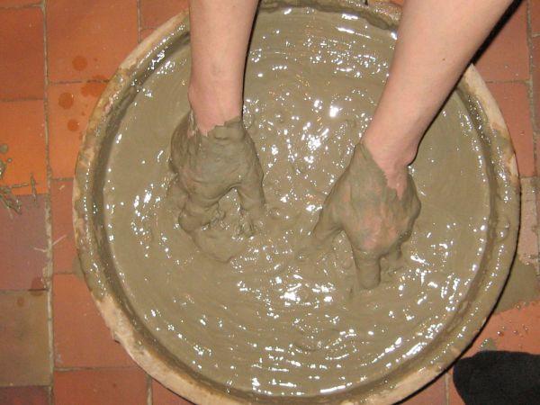 Раствор из глины для штукатурки