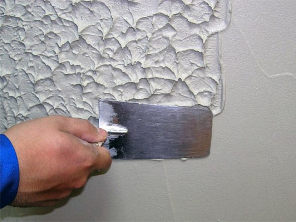 Шпаклевка окрашенных стен