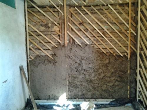 Штукатурка стен деревянного дома