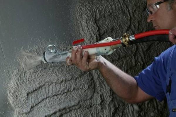 Штукатурка цементно песчаная для машинного нанесения