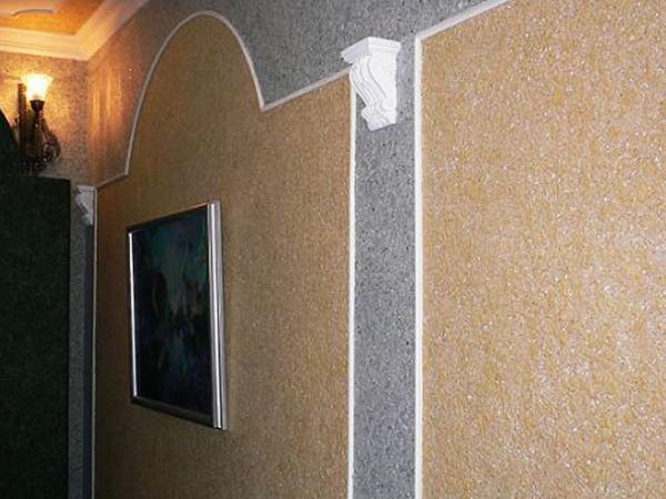 Silk plaster шелковая декоративная штукатурка