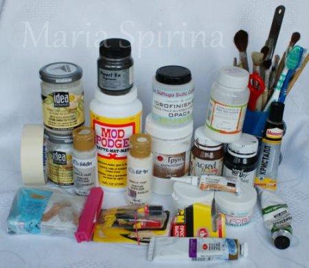 Разные виды отделочных материалов