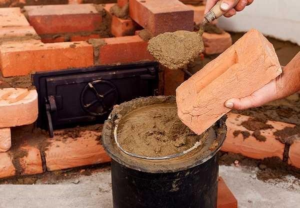 Фото нанесения глиняного состава