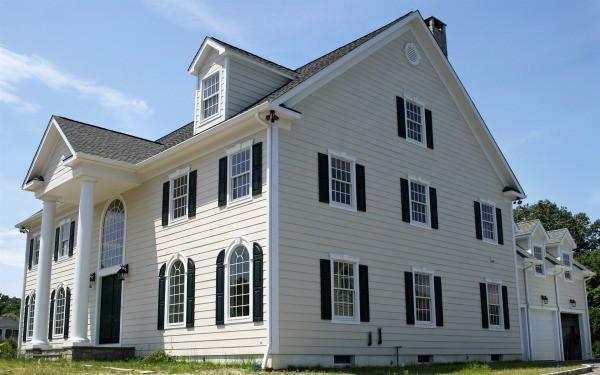 Как покрасить дом снаружи: дизайн