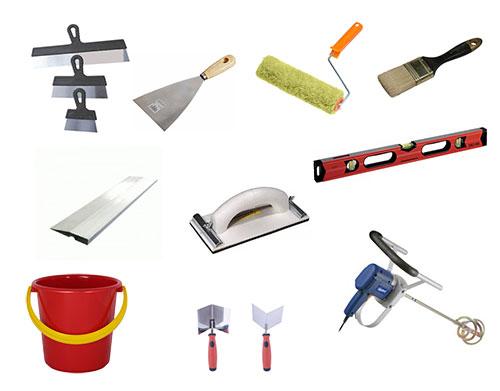 Набор инструмента для шпаклевки