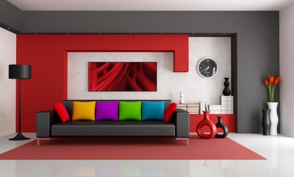 Насыщенные цвета – для хорошо освещённого помещения