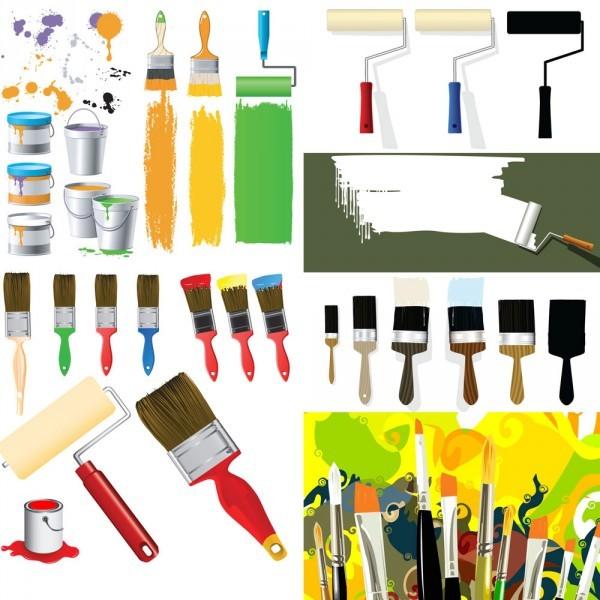 Некоторые инструменты, которые понадобятся при покраске мебели