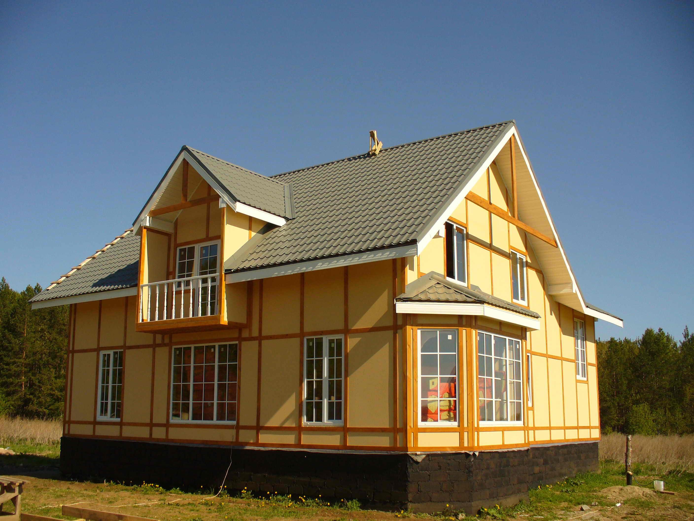 Красивый цвет фасада или как покрасить дом в 2016 году (с фото)