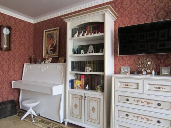 Перекрашенная мебель своими руками