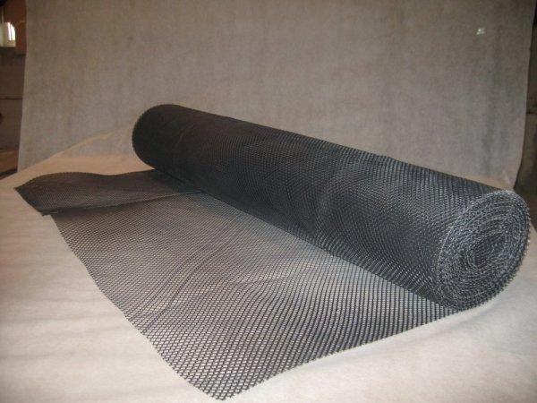 Полимерная сетка чёрного цвета