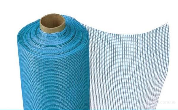 Стекловолоконная сетка для армирования штукатурной стяжки