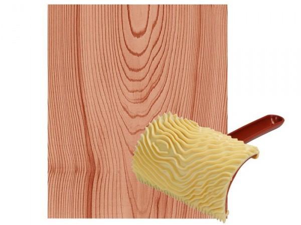 Текстурный аппликатор с имитацией дерева