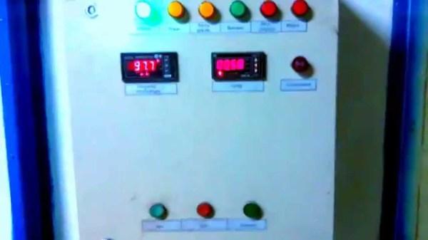 Автоматика и температурные датчики, учитывающие показания двух термопар и вычисляющие среднее значение